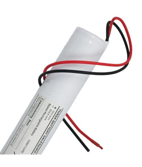 Yuasa 3DH4-0LA4 - Emergency Battery 3 Cell Stick with Leads