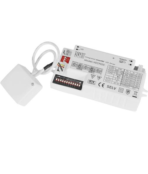 Integrated Motion Sensor LED Driver HEC8025