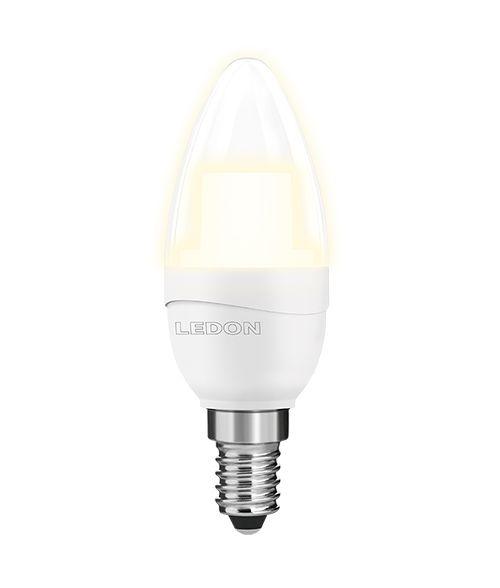 Ledon LED Candle 6W E14 B35/C 400 Lumen Non-Dimmable