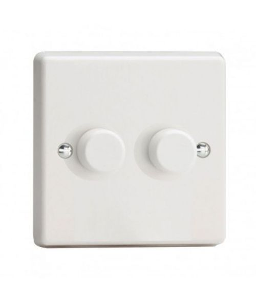 Varilight V-PRO Dimmer Switch, 2 gang