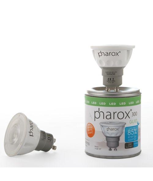 Pharox 300 5W GU10.  LED Spot Light. Dimmable