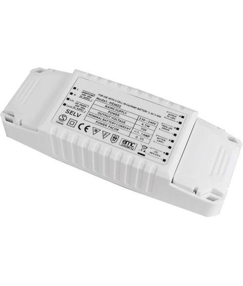 LED 2D-Emergency Pack. Including Ni-Cd Battery