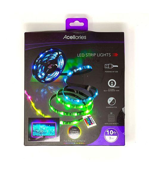 Polaris LED Strip Light 3m Colour Changing Remote Control