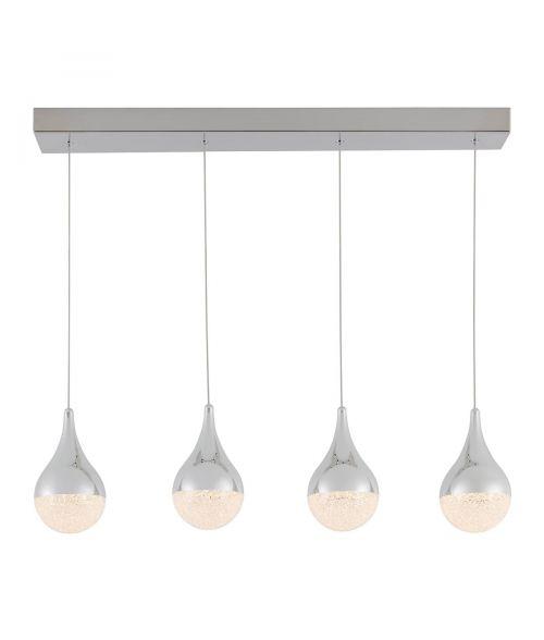 Artika Glitzer 4 Pendant LED Light