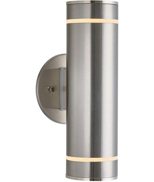 Artika C7 - Stainless stell indoor / outdoor wall light
