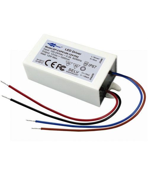 12V Power Supply 12Watt