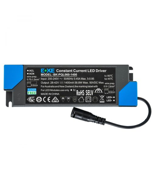 BOKE LED Constant Current Driver 60W Non-Dimmable