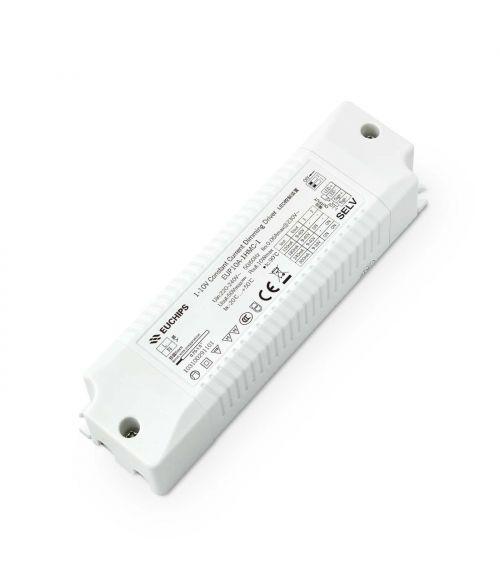 EUCHIPS LED Driver 10W 1-10V & 0-10V Dimmable