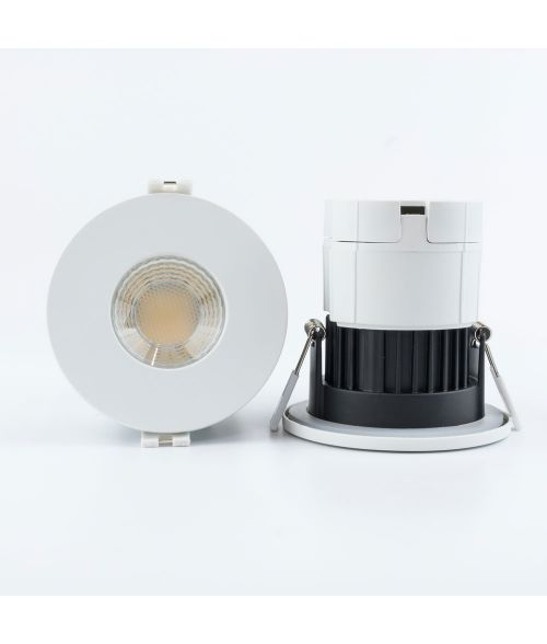 Altair Twin Pack Fire Rated Downlight 8Watt Tri-Colour. IP65