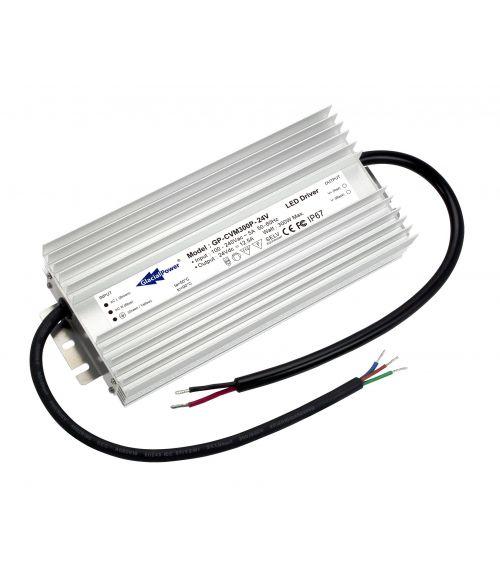 Glacial LED Driver 24V 300Watt. Constant Voltage