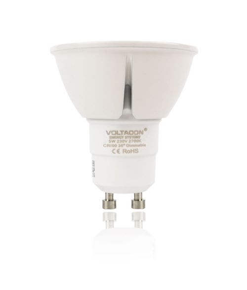 LED Spot GU10 5W - 2700K, Dimmable, 36° Beam Angle