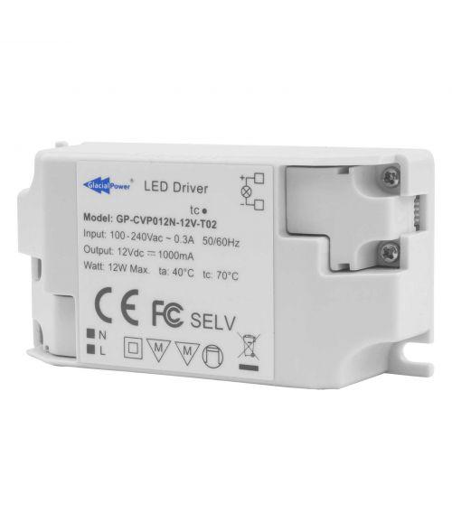 12V Power Supply 12Watt Screw Terminal