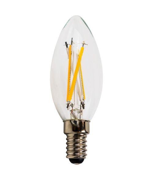LEDISON Filament LED Candle 6W E14 2700K Warm White