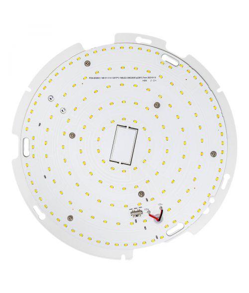 LED Gear Tray 18Watt - Emergency Battery 0% - 10% MS (Microwave Sensor) - Tri Colour
