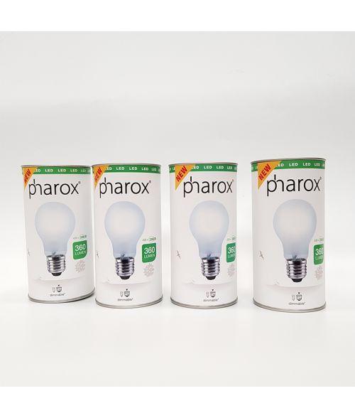 Pack of 4 LED Filament Retro Lamps 4Watt