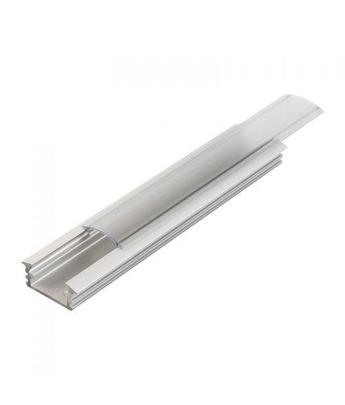 Aluminium Profile - U Channel Recessed