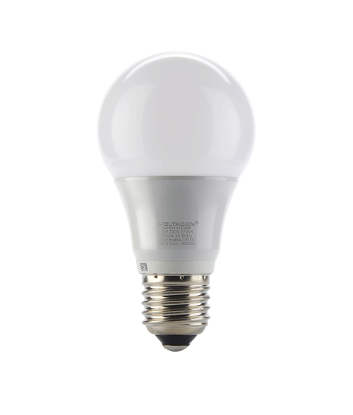 Ledison Globe LED Bulb - 5W, E27, A65, Warm White, 2700K, 230V