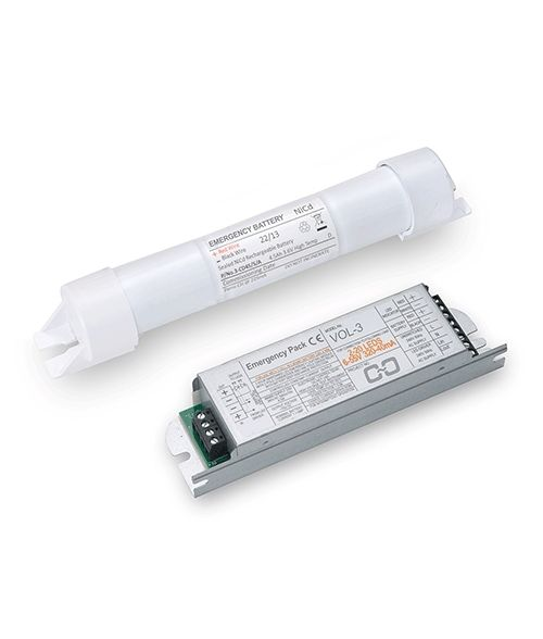 Emergency Pack for LED tubes with Ni-CD Battery