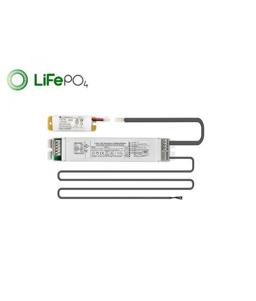 Liteplan integral LED Emergency Conversion Pack - LiFePO4 Battery