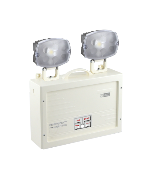 Olympia Electronics Power Lights. Twin Spot 3hr Emergency LED