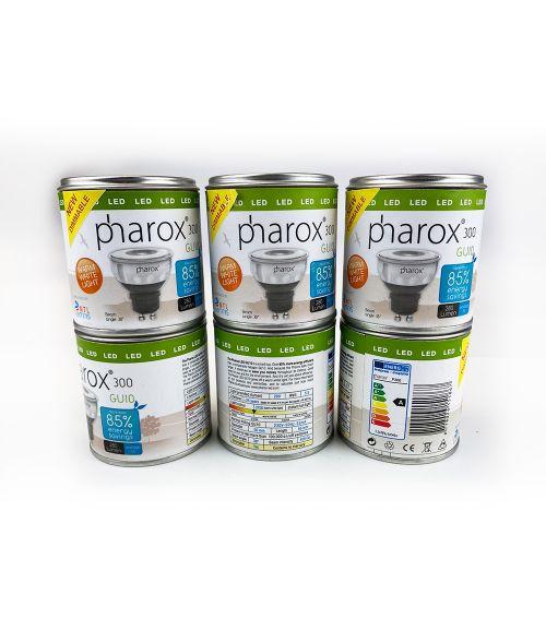 Pack of 6 - Pharox 300 GU10, 5.5W, 2700K
