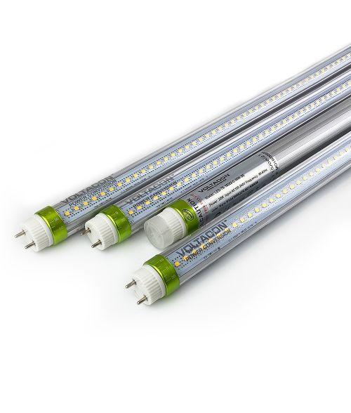 Pack of 4 - LED T8 Tube - 22W, 150cm, Warm White