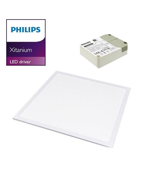 LED Panel with Phillips Driver 40W 600x600