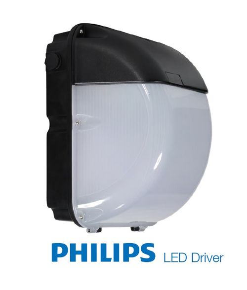 LED Wall Pack 40W. IP65, Outdoor, Photocell