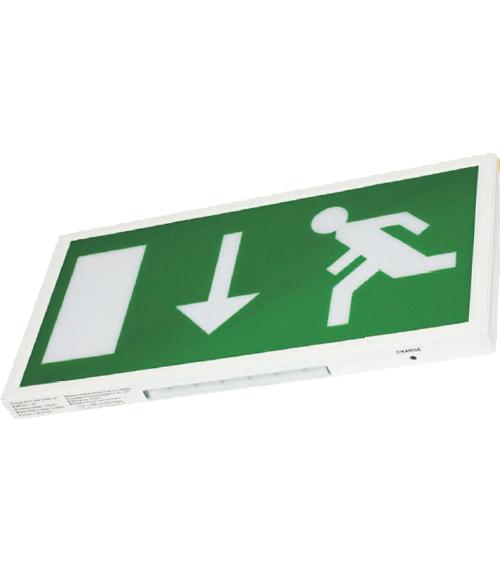 Pisces Slim LED Emergency Exit Sign