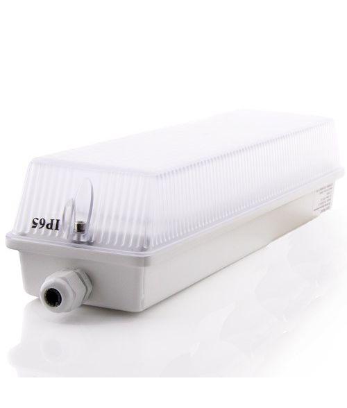 LED Outdoor Bulkhead 12W IP65. Natural white 4000K light
