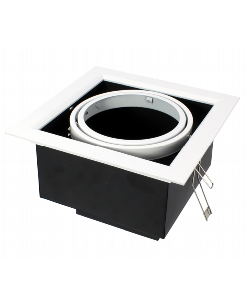 Gimbal Single fixture AR111 housing without lamp