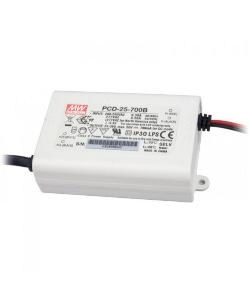 Meanwell LED Dimmable Driver 25W. 700mA