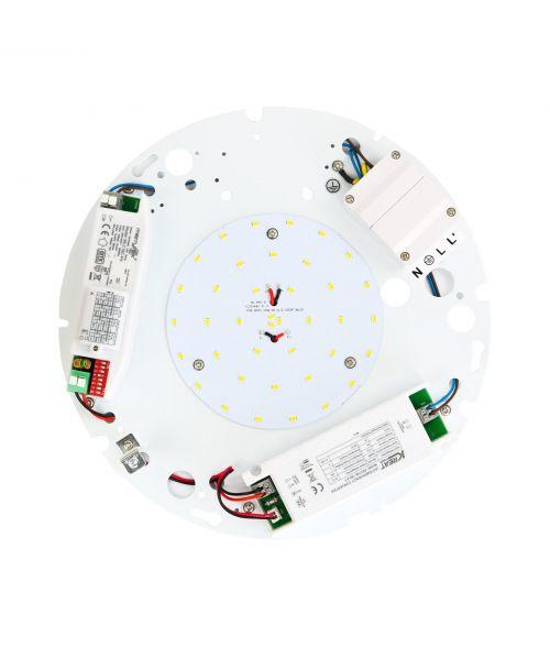 LED Gear Tray 16Watt - Emergency Battery 0%- 10% MS (Microwave Sensor)