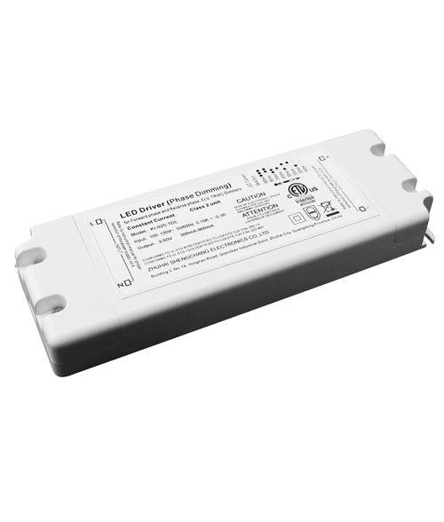 AC TRIAC LED Driver 25W. Adjustable Current 300-900mA