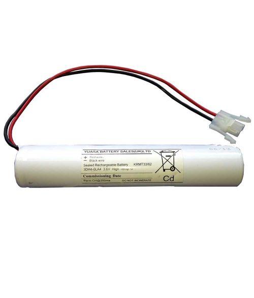 Yuasa NI-CD Battery  3DH4-0LA4. Emergency Lighting