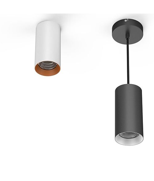 LED Pendant Downlight 18Watt. White or Black Housing. Ceiling Lighting.