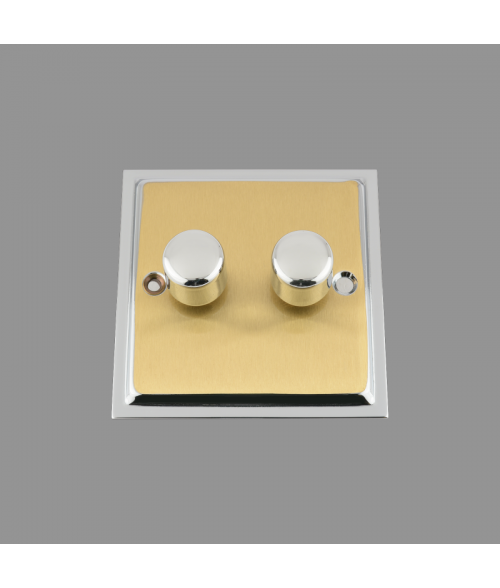 Ledison LED Dimmer Switch 2-Gang. 250W