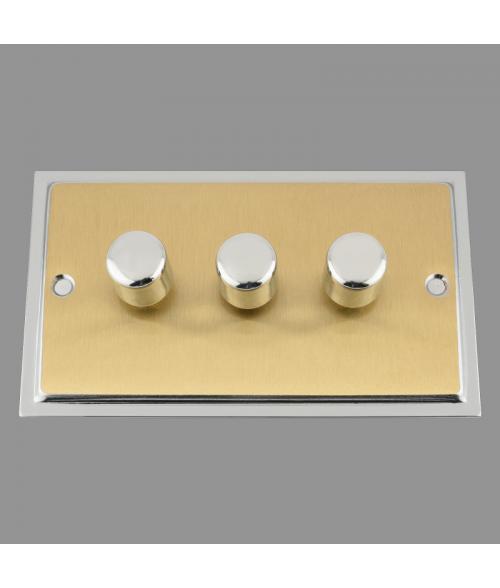 Ledison LED Dimmer Switch 3-gang. 250W
