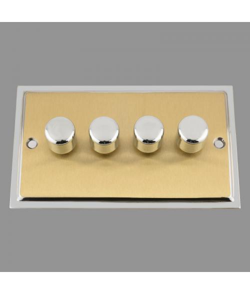 Ledison LED Dimmer Switch 4-gang. 250W