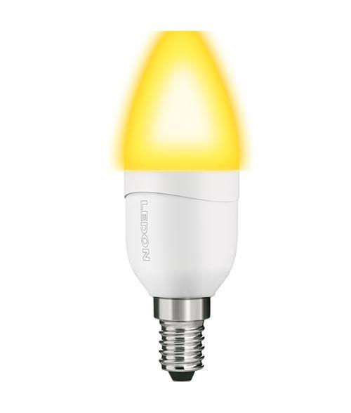 Ledon LED 'Candelight' Candle 6W E14 B35 Dimmable