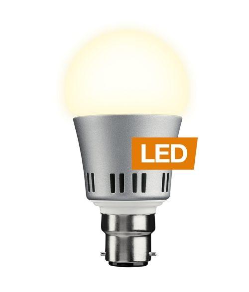 LEDON Lamp 6W, B22 Bayonet Cap LED Light Bulb