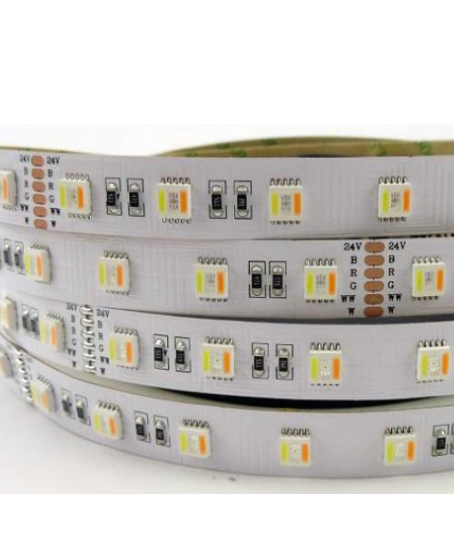 LED Strip Light 5 in 1. RGB Warm White & Cool White 5 Meters Kit