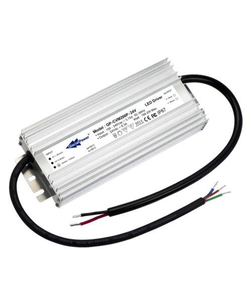 Glacial LED Driver 12V 200 Watt. Constant Voltage