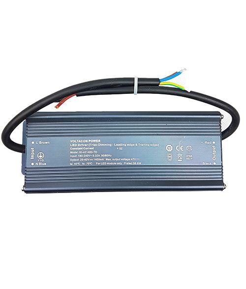 AC TRIAC LED Driver 58W. 140mA Constant Current