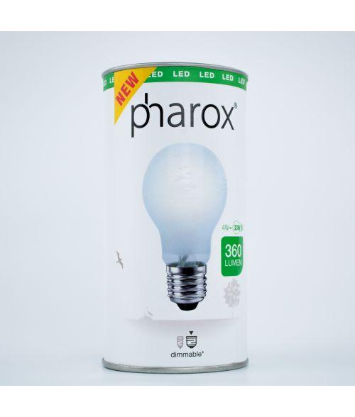 LED Filament Classic Bulb Pharox 4Watt Frosted Glass