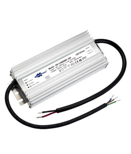Glacial LED Driver 24V 200Watt. Constant Voltage