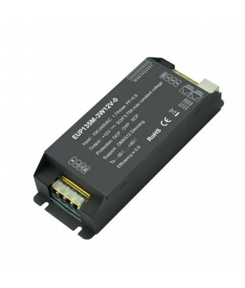 EUCHIPS 135Watt DMX dimmable LED driver
