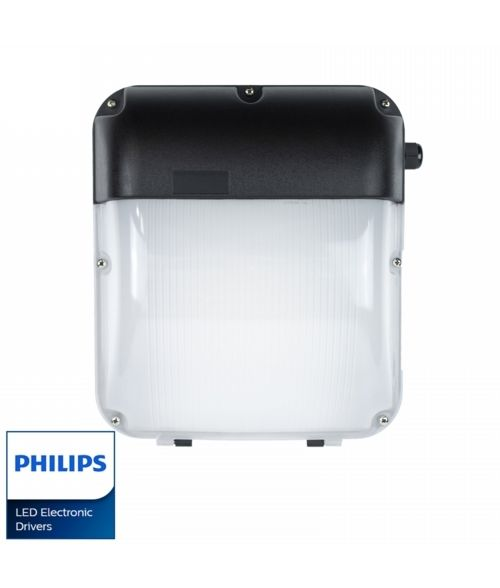 LED Wall Pack 30W. IP65, Outdoor, Photocell