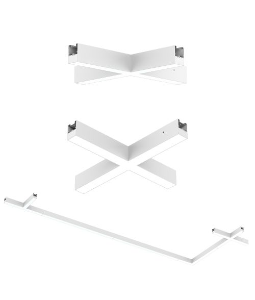 Connectors & Link Accessories for White Triumph LED Fitting