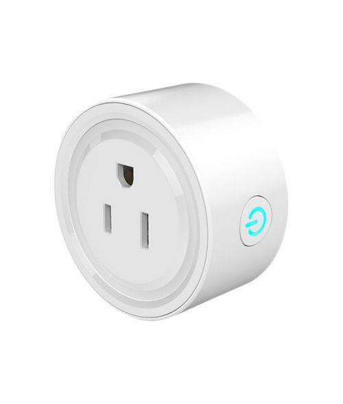 Smart WiFi Plug, Mobile, Alexa, Google Assist, UK & EU Pins